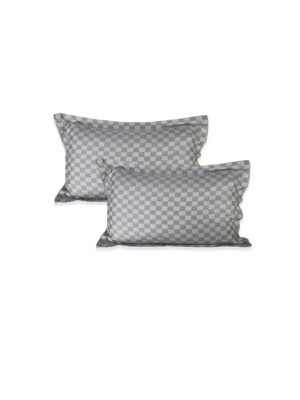 Riyashree 100% pure cotton stylish pillow cover super soft for home with tie knot set of 2 ( 26 in * 18 in )